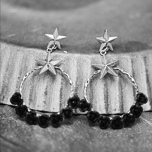 Desert Rose Dangle Earrings